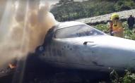 При зльоті зазнав аварії літак:  шестеро військових загинули на місці. ВІДЕО