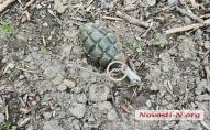 У Миколаєві діти грали з бойовою гранатою