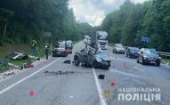 Ще одна смертельна ДТП на трасі Київ-Чоп: загинули батько та син. ФОТО
