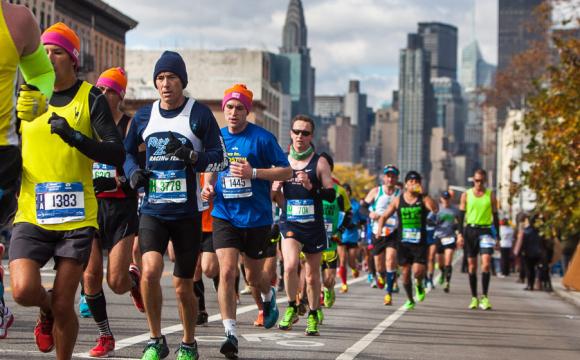 38-річний чоловік випадково пробіг 42 кілометри марафону - volynfeed.com