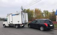 У місті на Волині легковик зіткнувся з вантажівкою. ФОТО