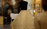 «Він психічно хворий»: поліція відпустила священика, якого затримали в жіночому одязі