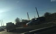 На Ківерцівській зіткнулися легковики: дорожній рух ускладнено. ФОТО
