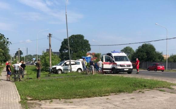 У Луцьку чергова ДТП: постраждали двоє дітей. ФОТО