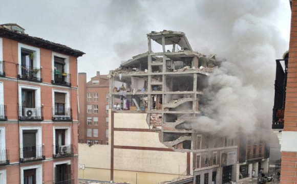 У Мадриді стався вибух, є жертви