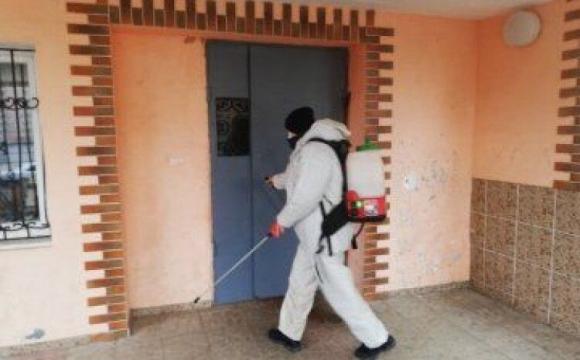 У Луцьку за добу продезінфікували 46 будинків та 2 гуртожитки