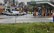 Невідомий відкрив стрілянину в магазині, двоє загиблих. ФОТО