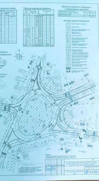 Обрали оптимальну схему організації проїзду кільця біля РЦ «Промінь»