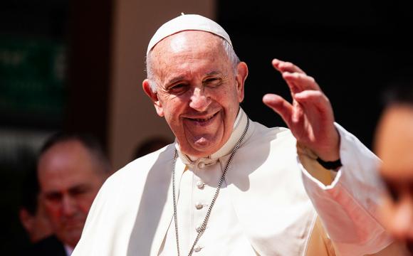 В Україну приїде Папа Римський