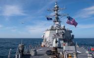 У РФ розхвилювались через кораблі США у Чорному морі