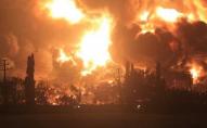 Пожежа на НПЗ: евакуйовано близько тисячі людей. ВІДЕО