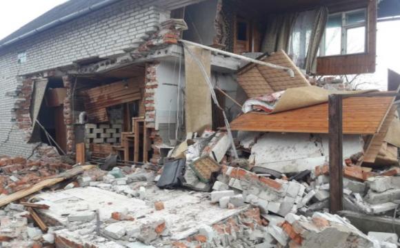 Вибух газу на Львівщині: знесло половину будинку