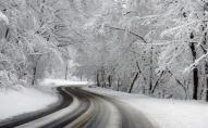 Волинських водіїв попереджають про ускладнення ситуації на дорозі через сніг