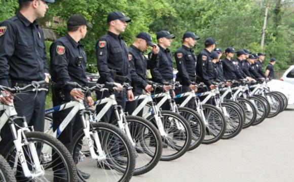 Скоро на Волині можуть їздити велосипедні поліцейські патрулі