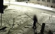 Українець у Польщі вкрав шлагбаум. ВІДЕО