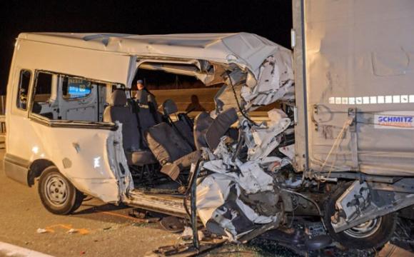 Мікроавтобус з українцями потрапив у смертельну ДТП в Угорщині, є загиблі. ФОТО