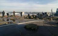 Велика пожежа у будівлі «Епіцентру»: працювали 10 одиниць техніки. ФОТО