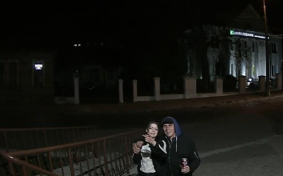 З'явилось відео викрадення державного прапора у Луцьку: все заради кохання?
