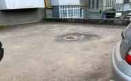 У Нововолинську водоканал не закріпив кришку люка, – мешканці