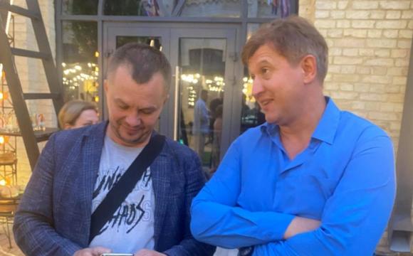 «Ти покидьок»: Данилюк розсік брову Милованову на власному дні народження. ФОТО