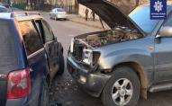У Луцьку ДТП: автівки зазнали значних пошкоджень. ФОТО. ВІДЕО