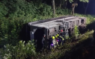 ДТП з рейсовим автобусом на Рівненщині: постраждали 22 людини. ФОТО