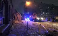 У Луцьку ліквідували пожежу на фабриці