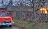 Пожежа у Сосницькому районі: 84-річний чоловік помер через опіки. ФОТО