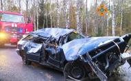 Зім'яло вщент: на Волині через ДТП пасажира затисло у автомобілі