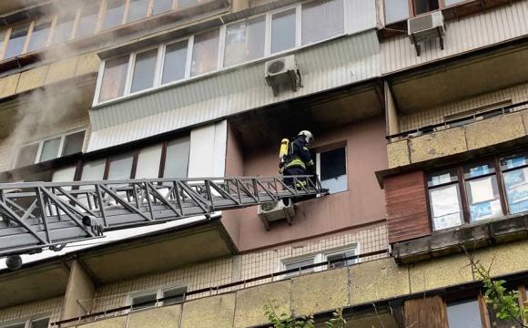 Пожежники врятували пухнастого жителя палаючої квартири. ФОТО