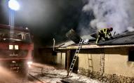 Під час пожежі загинули 30 свиней. ФОТО