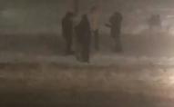 У Нововолинську вандали погнули дорожній знак. ВІДЕО