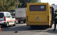 Водій маршрутки збив пішохода: відео смертельної ДТП. ВІДЕО