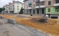 Чому зупинили ремонт проспекту Волі у Луцьку. ФОТО. ВІДЕО