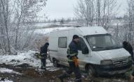 На Волині дві автівки злетіли в кювет. ФОТО