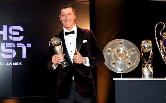 Роберта Левандовського визнали найкращим футболістом року - ФІФА