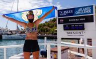 70 днів на веслах: 21-річна жінка самотужки перепливла Атлантику. ФОТО
