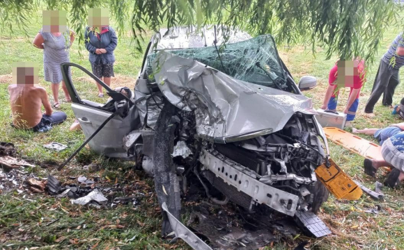 Страшна аварія у Луцькому районі: з'явились фото з місця події