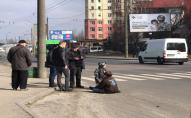 У Луцьку авто збило 2 дітей на переході: травмовані в лікарні. ФОТО