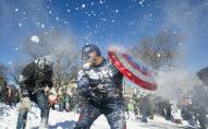 Волинський священик закликає парафіян гратися в сніжки