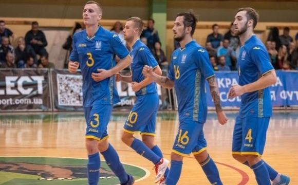 Збірна України з футзалу пробилася на Євро-2022