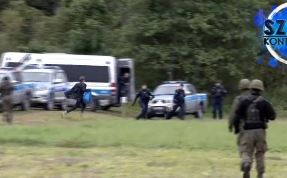 Польський депутат намагався прорватися до мігрантів: епічне відео погоні