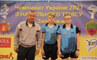 Юний волинянин здобув срібну медаль на чемпіонат України з тенісу настільного