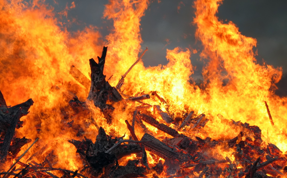 На Волині у вогні загинув 45-річний чоловік
