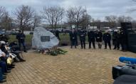 У Києві відкрили сквер пам'яті збитого в Ірані рейсу МАУ