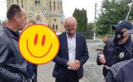 Лучанин, який біля храму накинувся на муніципала, публічно вибачився. ВІДЕО