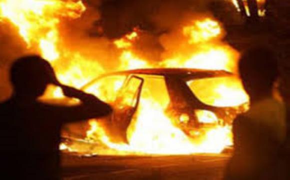 Поліцейський замовив підпал автомобіля журналістки. ФОТО