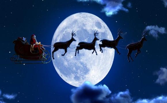 Санта Клаус отримав ліцензію на комерційні польоти