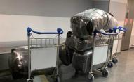 Луї Вітон і Прада: у Борисполі вилучили двісті кг брендового одягу. ФОТО