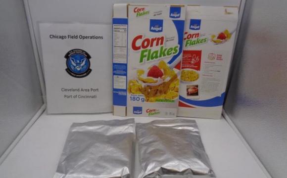 На митниці затримали 20 кг «солодких» пластівців: замість цукру посипані кокаїном